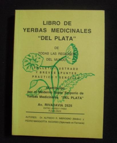libro de yerbas medicinales del plata