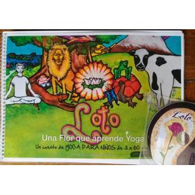 Libro De Yoga Para Niños Con Cd: Loto (con Envío Incluído)