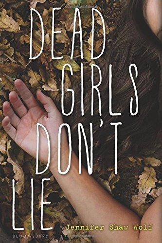 libro dead girls don't lie - nuevo