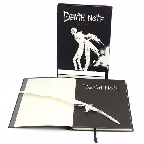 libro death note replica + pluma lapicera - anime