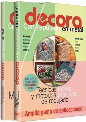 libro decora con repujado en metal - grupo clasa
