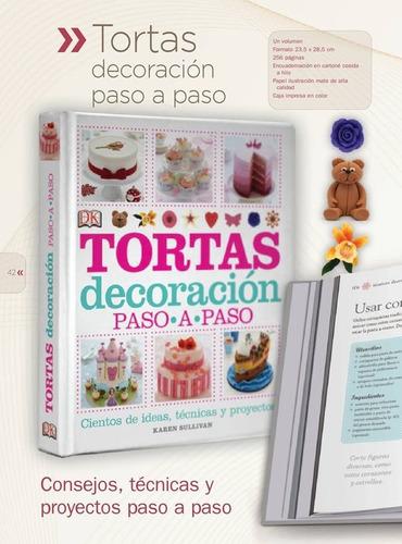 libro decoracion tortas paso a paso karen sullivan planeta