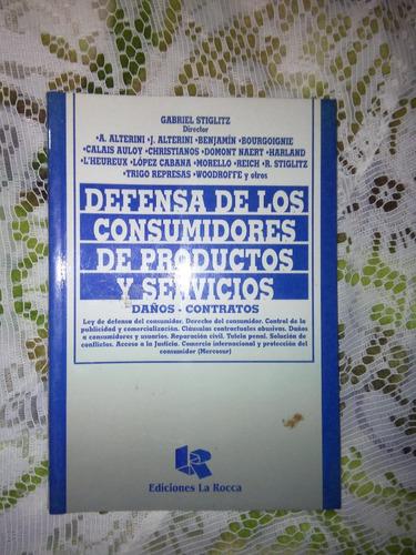 libro defensa de los consumidores productos y servicios
