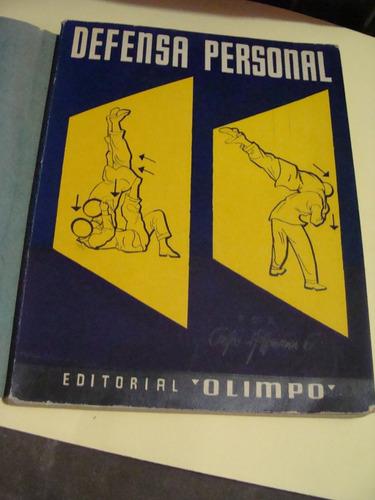 libro defensa personal , carlos hoffmann , olimpo   , año 19