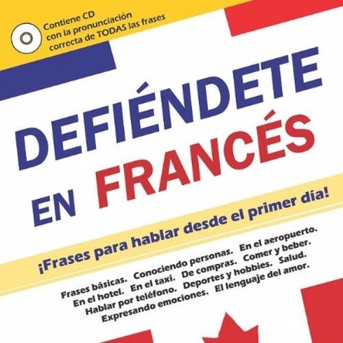 libro, defiéndete en francés con audio c d incluido.