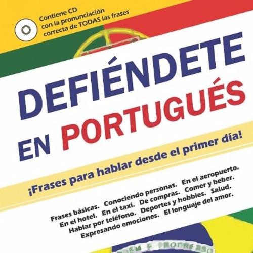 libro, defiéndete en portugués con audio c d incluido.