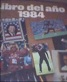 libro del año 1984 salvat