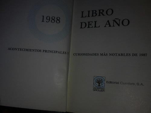 libro del año, 1988: acontecimientos principales y curiosida