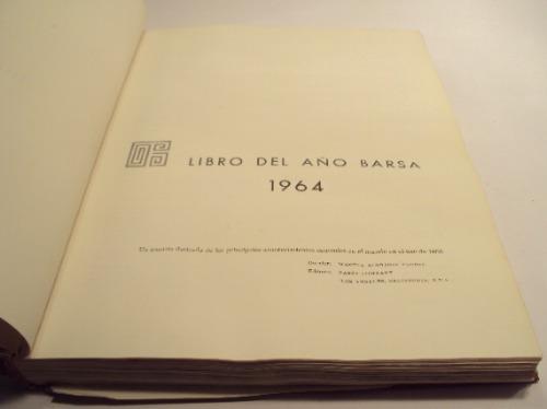 libro del año barsa 1964