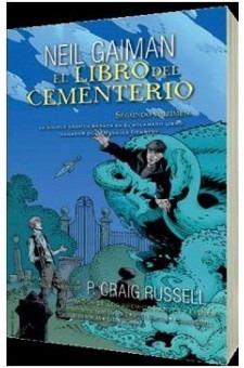 libro del cementerio - novela gráfica tomo 2, gaiman, roca