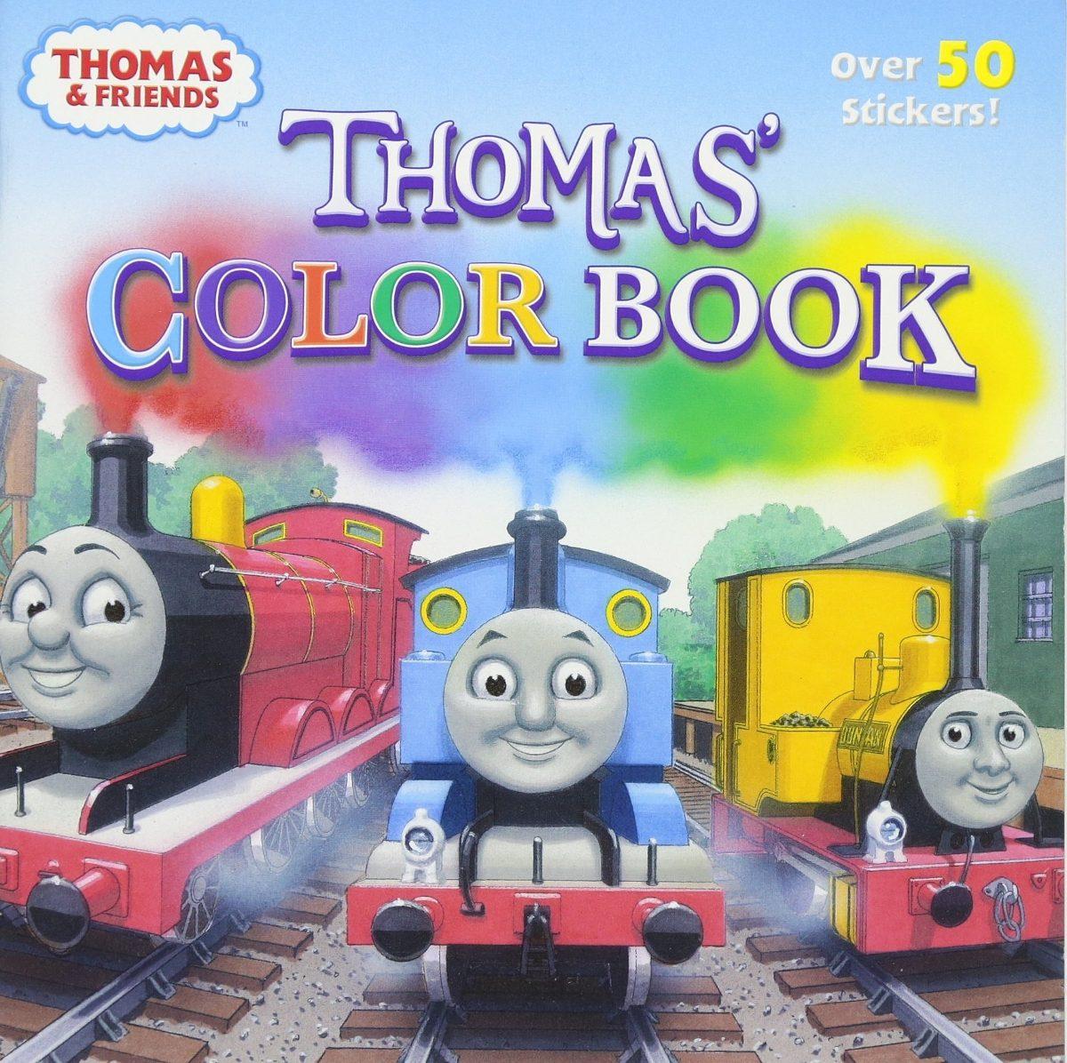 Libro Del Color De Thomas (thomas & Friends) (pictureback ...