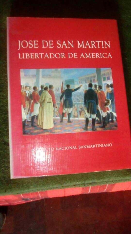 Libro Del Instituto Nacional Sanmartiniano - $ 450,00