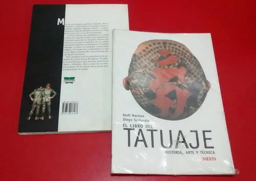 libro del tatuaje historia arte y técnica tatoo