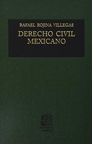 libro derecho civil mexicano 1 introduccion y personas