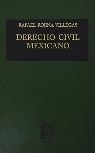 libro derecho civil mexicano 6 volumen 1 contratos - nuevo