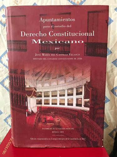 libro derecho constitucional mexicano