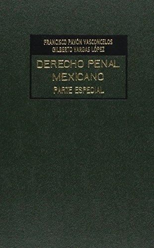 DERECHO PENAL MEXICANO LIBROS PDF DOWNLOAD