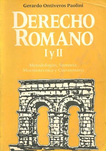 libro derecho romano i y ii, 3ra edición, marga editores
