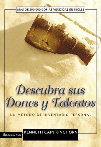 libro : descubra sus dones y talentos  - kenneth c. kinghorn