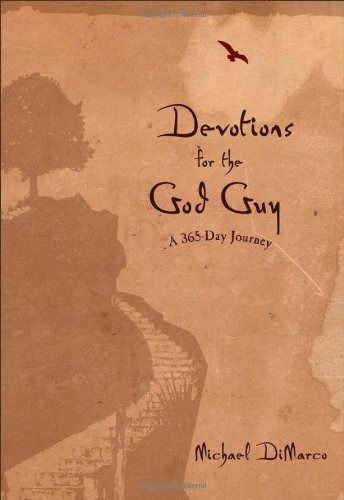 libro devotions for the god guy: a 365-day journey - nuevo