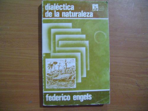 libro dialectica de la naturaleza / federico engels