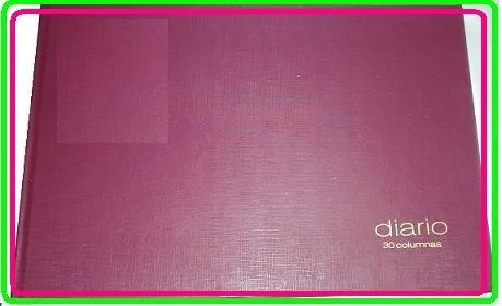 libro diario 30 columnas frigorifico, matadero, hacienda
