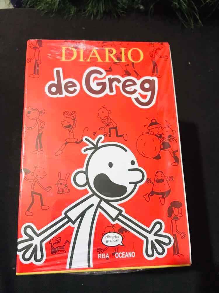 Libro Diario De Greg 14 Libros Originales + Regalo - $ 999