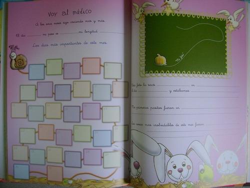 libro diario de mi bebe + cd