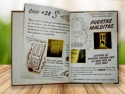 libro diario gravity falls 1,2y3 en español tapa dura grande