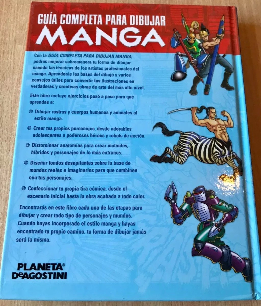 Libro : Dibujar Manga - Guia Completa 1 Vol Color + Muñeco - $ 1.590 ...