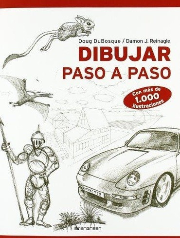 libro dibujar paso a paso - aa. vv