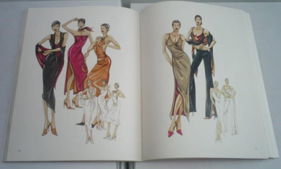 Libro dibujo de figurines para el dise o de modas 549 for Dibujos de disenos de moda