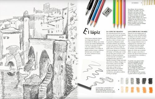 libro dibujo de perspectiva. tec. basicas de dibujo.