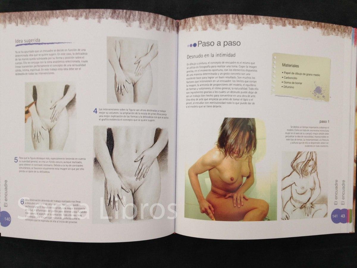 Libro De Dibujo Y Pintura El Desnudo Figura Humana Técnicas ...