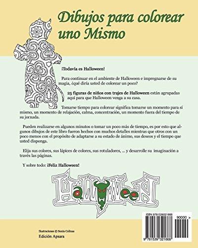 Libro : Dibujos Para Colorear Uno Mismo - Halloween - (1668) - $ 749 ...