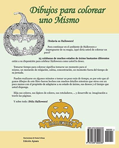 Libro : Dibujos Para Colorear Uno Mismo - Halloween - Vol... - $ 689 ...