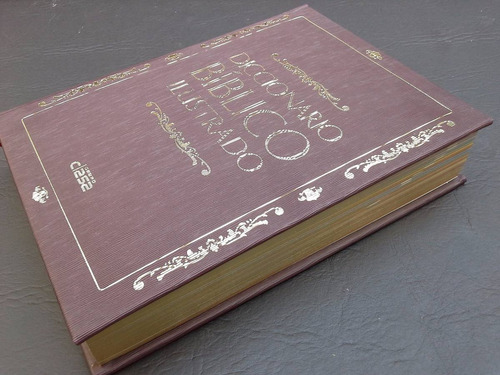 libro diccionario bíblico ilustrado ed clasa