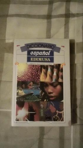 libro diccionario de español.