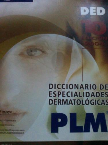 libro: diccionario de especialidades dermatologica plm