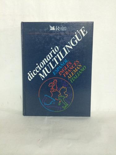 libro diccionario multilingüe selecciones srd1