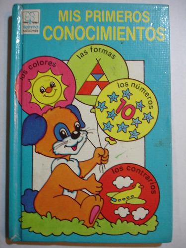 libro didactico niños mis primeros conocimientos edit: hemma