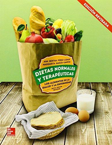 libro dietas normales y terapeuticas - nuevo