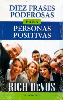 libro, diez frases poderosas para personas positivas devos.
