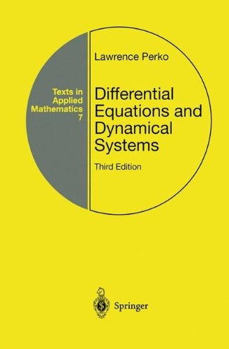 libro differential equations and dynamical systems - nuevo