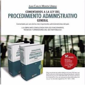 Libro Digital  Comentarios De La Ley 27444, ( Moron Urbina)