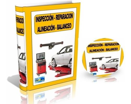libro digital alineación y balanceo de ruedas - pdf - dvd