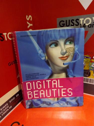 libro - digital beauties -2d 3d digital models,idols taschen