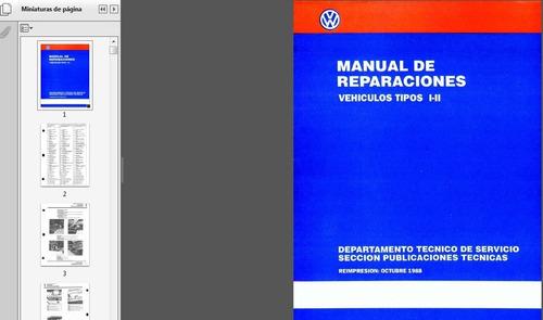 libro digital  de taller kombi 1979-1988