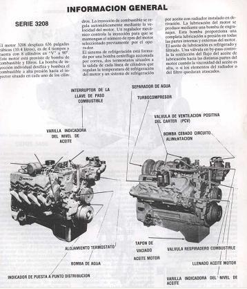 libro digital de taller motor caterpillar 3408 1978-1984