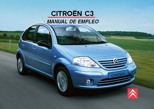 libro digital de usuario citroën c3 2002-2010